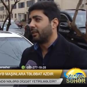 Azərbaycanda Kirayə Avtomobillərə Tələbat Azdır / Kiraye Masinlar / Rent A Car Baku / Аренда авто в Баку