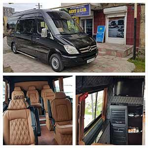 Mercedes Sprinter rental minibus in Baku / Микроавтобус в аренду в Баку / Arenda avtobus