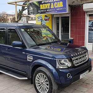 LAND ROVER DISCOVERY – New Rental Car In Our Fleet / Новая машина в нашем автопарке