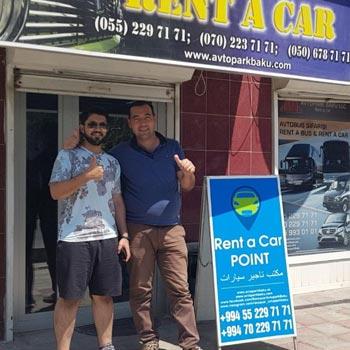 Marwan Aljneibi (Saudi Arabia) rent a car Baku / arenda masinlar