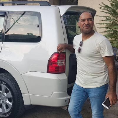 Mr.Abdullah (Saudi Arabia) rent a car Baku / arenda masinlar