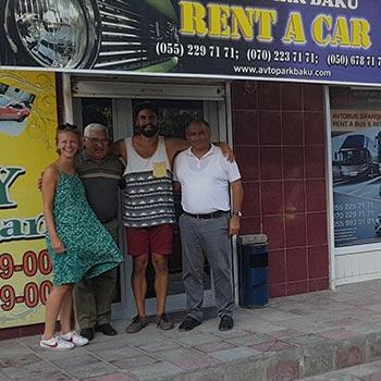 Yelena Kadi / аренда авто в Баку, Азербайджане