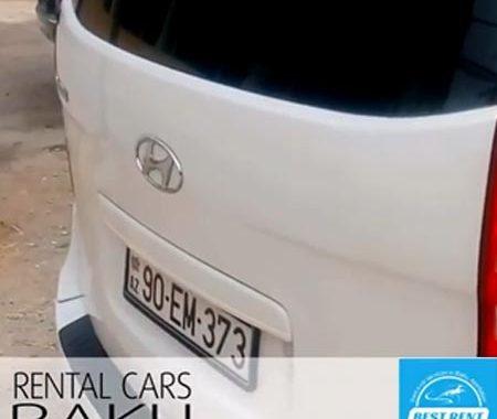 Hyundai H1 Rental Cars In Baku / машины на прокат в Баку / Arenda Masinlar