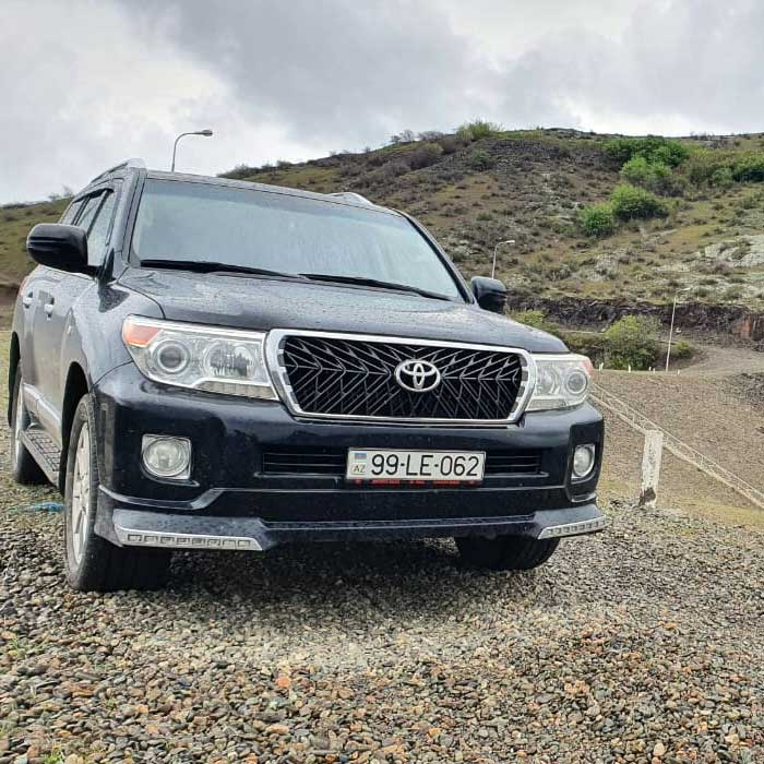 Toyota Land Cruiser (2015) from Best Rent a Car / 30.04.2020 rent a car Baku / avtomobil kirayesi / аренда машин в Баку