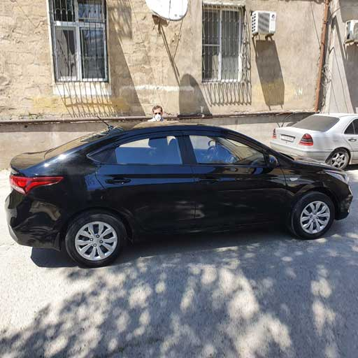 Hyundai Accent (2019) from Best Rent a Car / 11.05.2020 rent a car Baku / avtomobil kirayesi / аренда машин в Баку