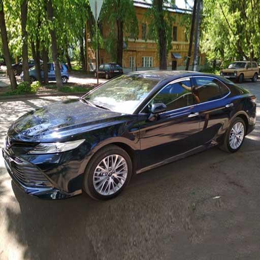Toyota Camry (2019) from Best Rent a Car / 21.05.2020 rent a car Baku / avtomobil kirayesi / аренда машин в Баку