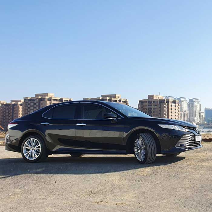 Toyota Camry (2019) from Best Rent a Car / 21.05.2020 rent a car Baku / avtomobil kirayesi / аренда машин в Баку
