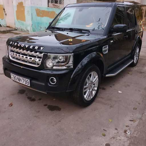 Land Rover Discovery from Best Rent a Car / rent a car Baku / avtomobil kirayesi / аренда машин в Баку