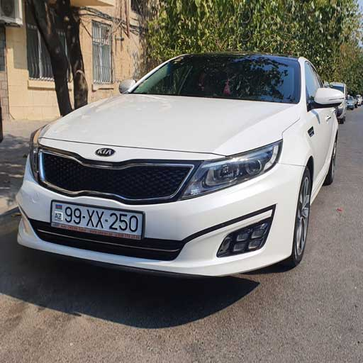 Kia Optima (2016) from Best Rent a Car / rent a car Baku / avtomobil kirayesi / аренда машин в Баку